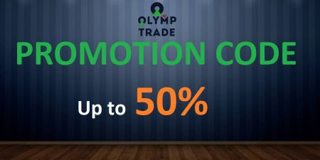 Olymp Trade প্রচার কোড - 50% পর্যন্ত বোনাস